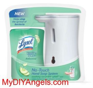 Free Lysol Soap Dispenser At Walmart My Diy Angels Diy And