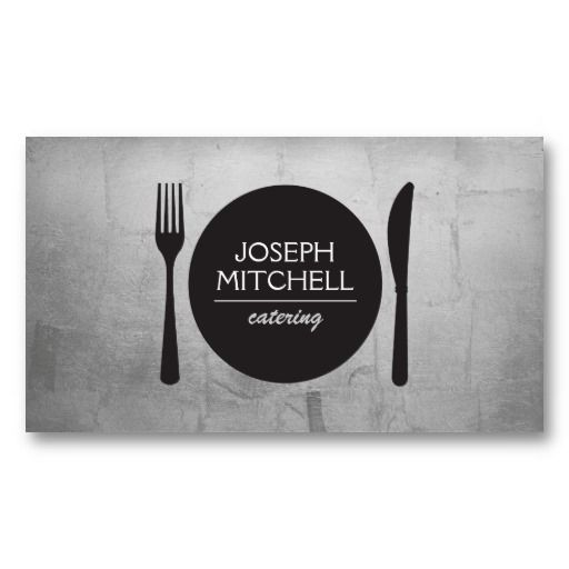 Business Card template for Chefs, Restaurants, Foodies, etc.