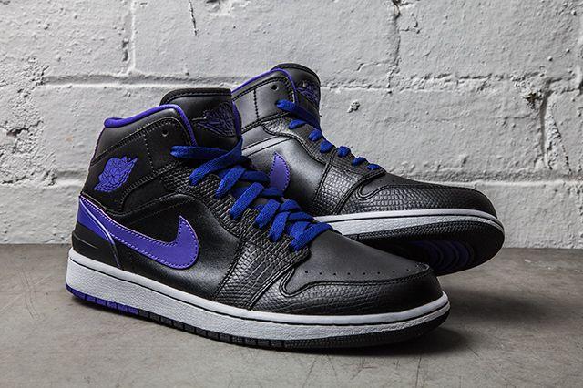 d90db81da20 AIR JORDAN 1 RETRO '86 (DARK CONCORD) | Sneaker Freaker | Jordan ...