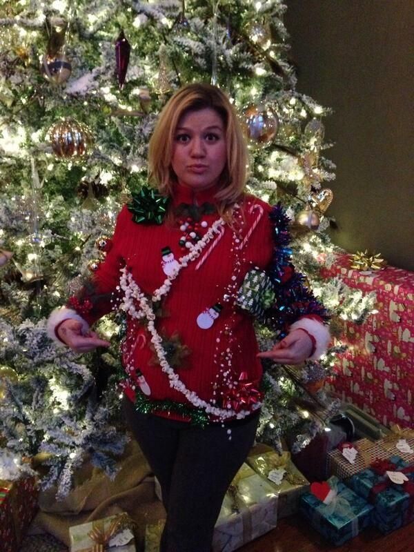 Miley Cyrus, Justin Bieber and more celebs wearing ugly Christmas ...