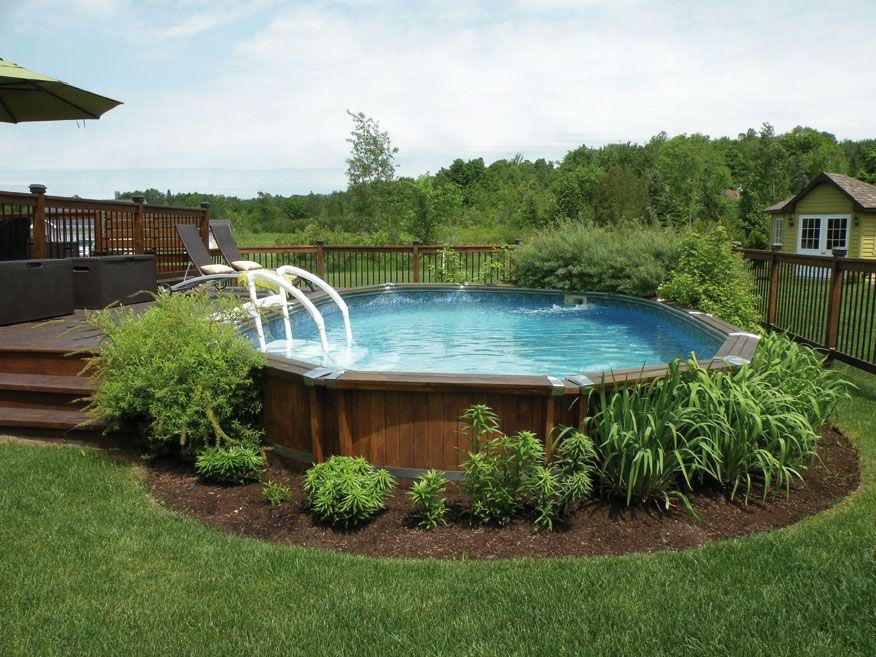 Pin von piscines tr vi auf piscines semi creus es for Dekor garten pool