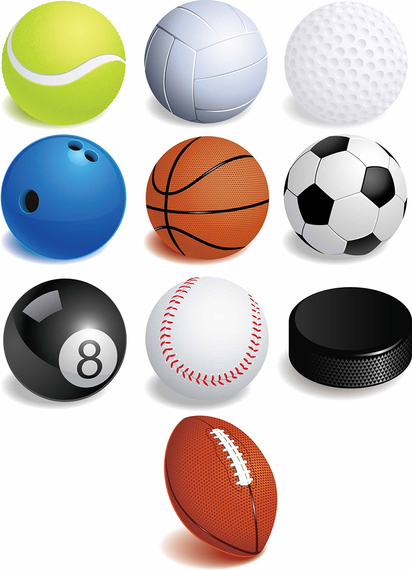 Free Sport Balls Vector Graphics Ad Sponsored Affiliate Sport Graphics Vector Free Sports Balls Free Sport Ball