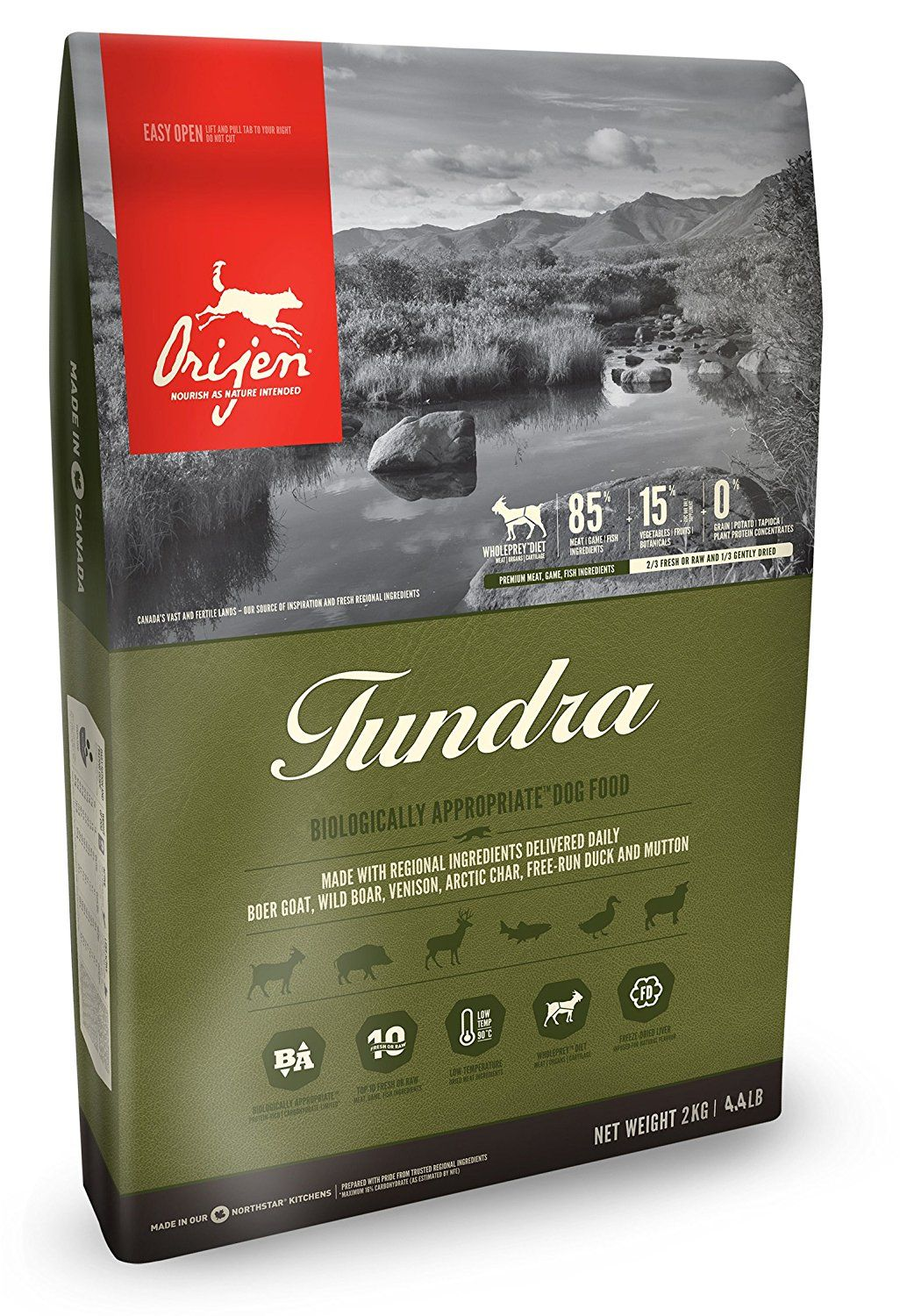 Orijen Tundra 4 4 Pounds Click Image For More Details This Is