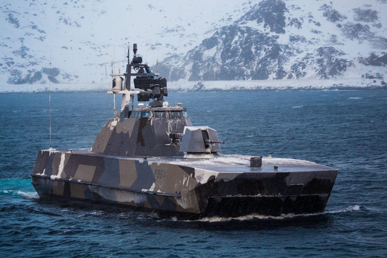 Norwegian Royal Navy SkjoldClass corvette Statek