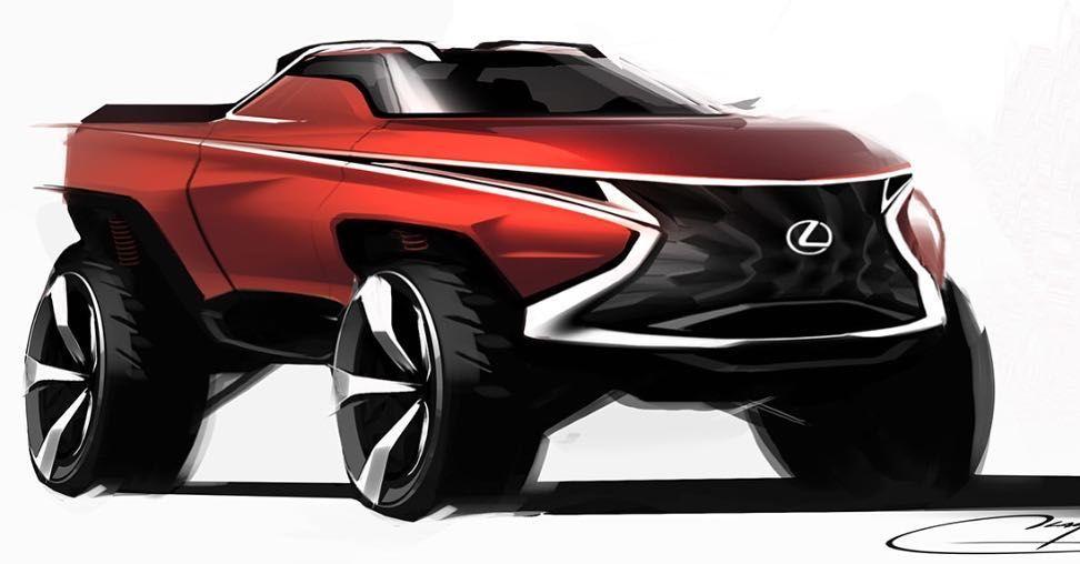 Bold Spindle Car Design Sketch Automotive Illustration Japan Cars