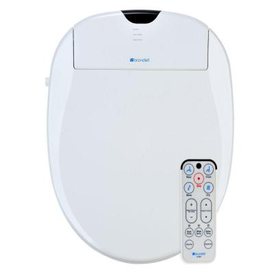 SmartBidet Electric Bidet Seat for Elongated Toilets in