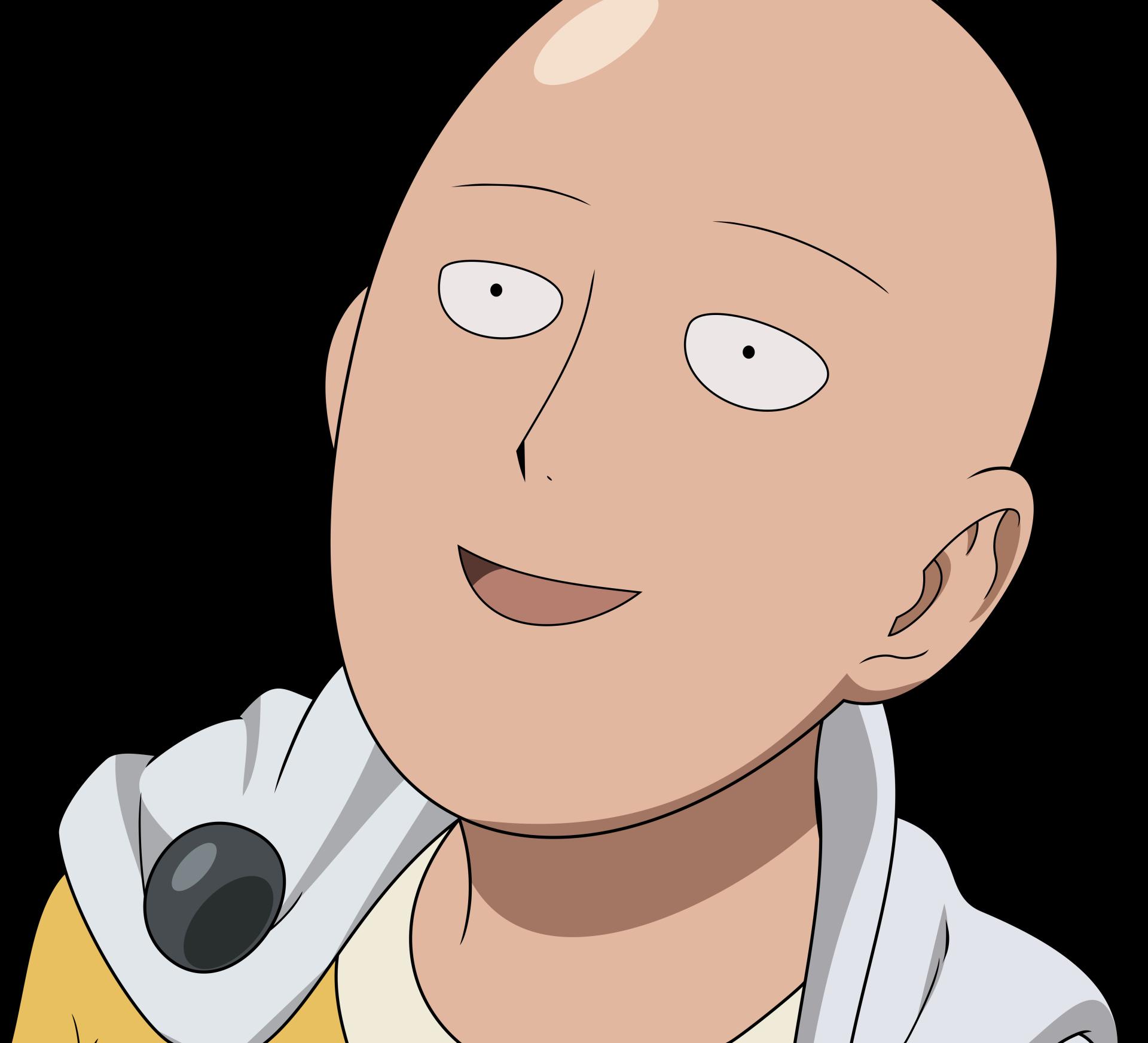 Anime One Punch Man Saitama One Punch Man Wallpaper Gambar Karakter Animasi Lucu