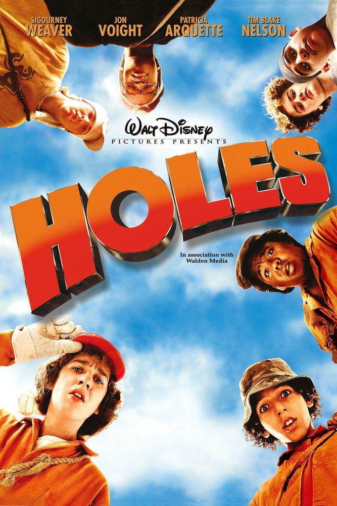 Holes Movie Poster - Sigourney Weaver, Jon Voight, Patricia ...