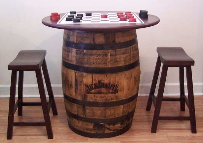 Furniture Recycled Barrels Repurposed Ideas