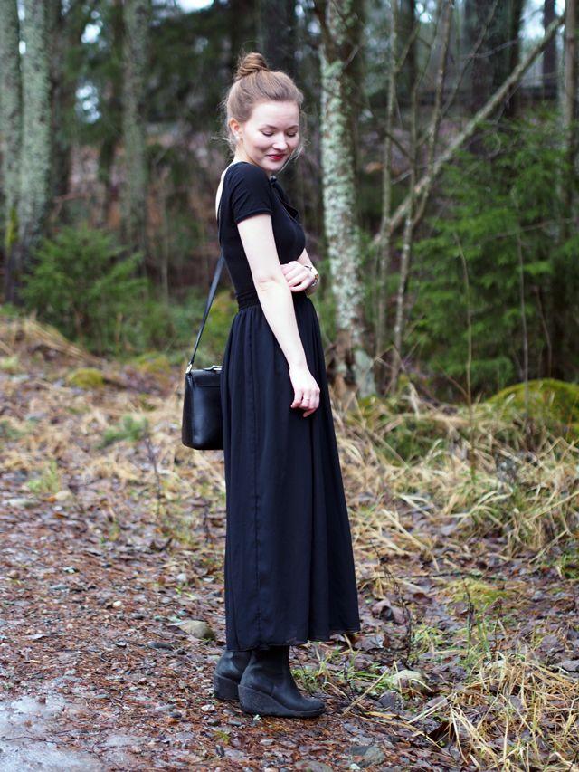 american apparel maxi skirt ida365