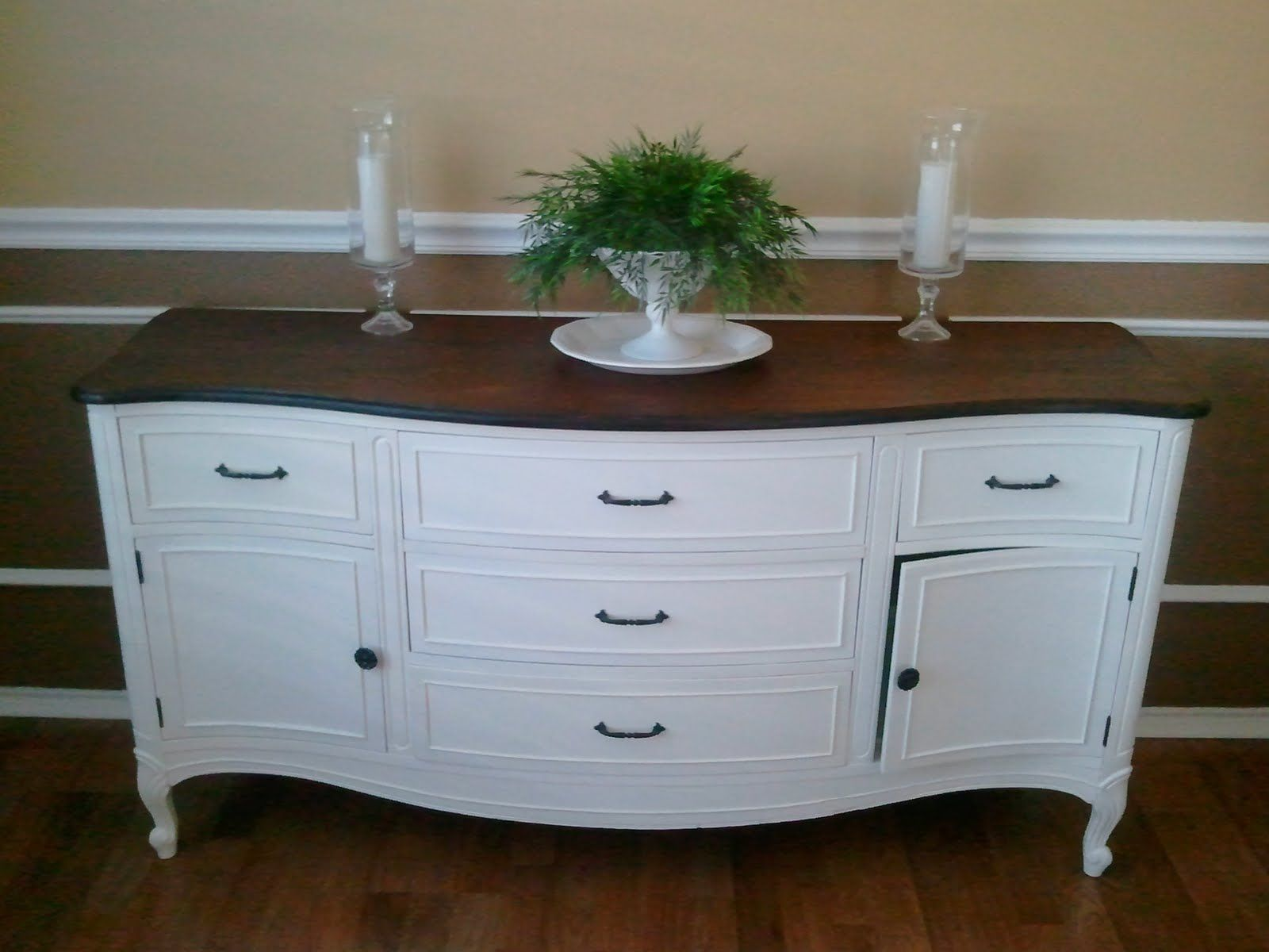 sideboard painted white | Home ideas | Pinterest | Credenza ...