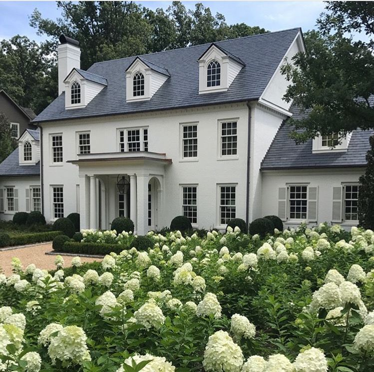Colonial Home Design Ideas: Colonial House Exteriors, Colonial