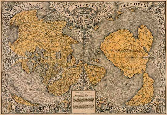 Piri Reis: Unquestionably not a hoax, the map is certifiably authentic, but  the information on the map is of mysterious orig… | Ancient maps, Old map,  Piri reis map