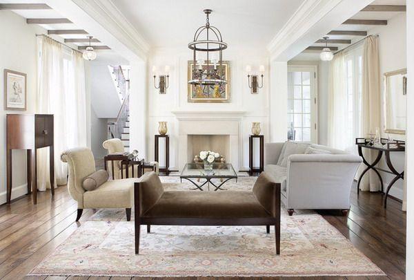 Traditionallivingroomdesignideaswithgreysofaantiquecahirs Prepossessing Wooden Floor Living Room Designs Design Inspiration