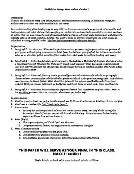 Example Of Essay Proposal Definitionessayaboutleadershipwhatmakesagoodleader Whatarethetraitsofaneffectiveleader Proposal Essay Outline also Good High School Essay Topics Leadership Definition Essay  Facs Leadership  Pinterest  Essay For High School Application