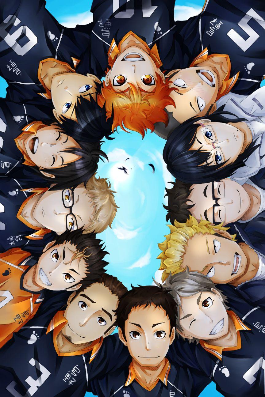 Haikyuu Fantastic Team Karasuno Fanart Fly By Simona018 Deviantart Com On Deviantart Com Imagens Garotos Anime Animes Wallpapers Filmes De Anime