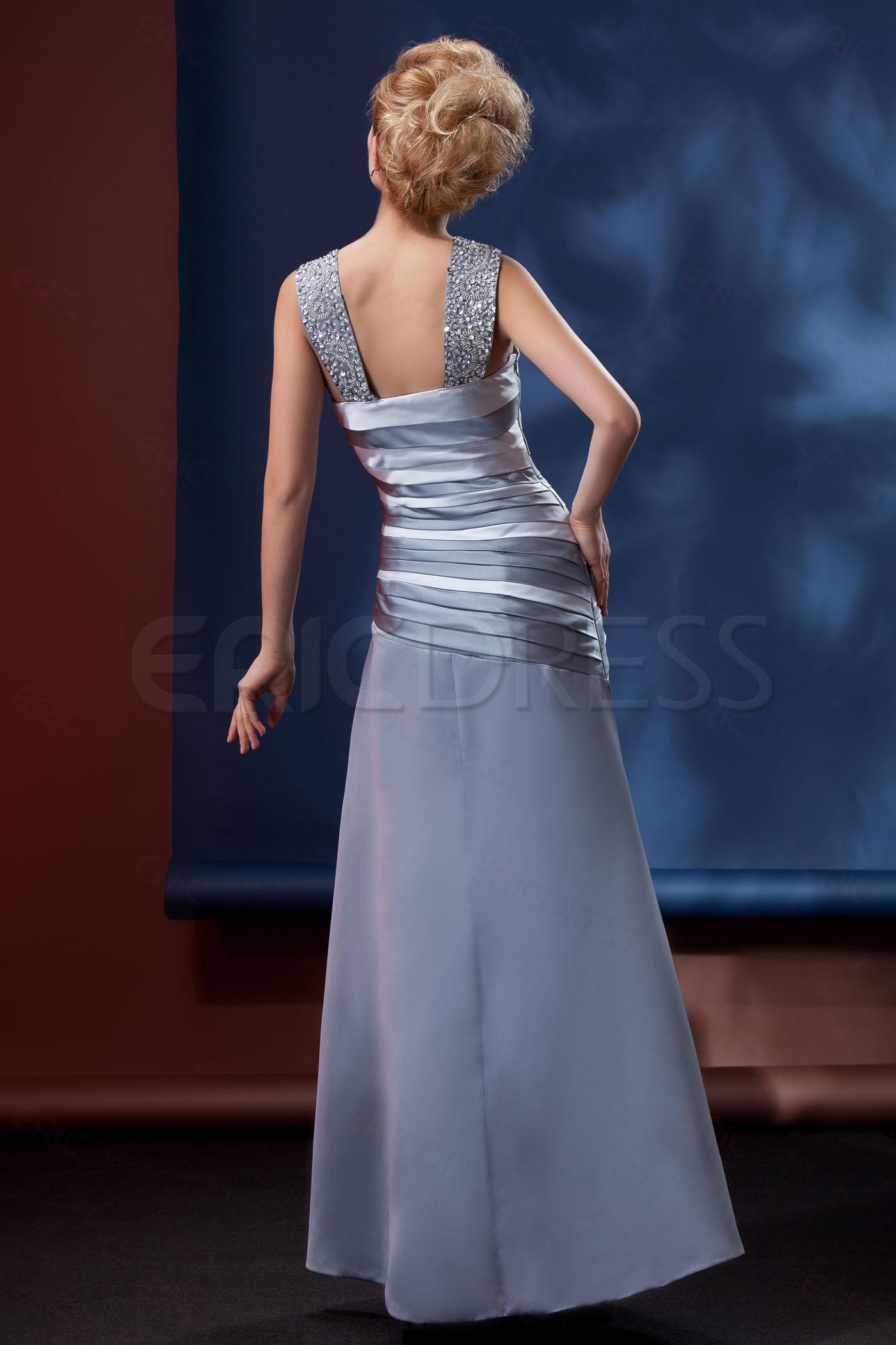 Plus size jacket dress for wedding  Beaded Sleeveless VNeck ALine Alinaus Mother of the Bride Dress