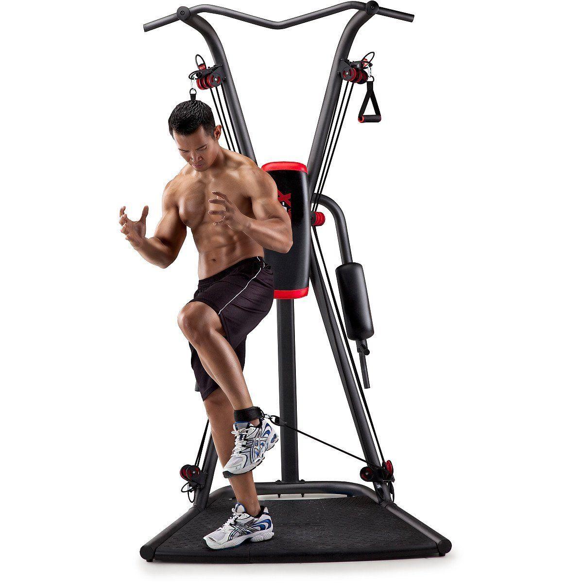 Weider factor plus home gym fold away vertical knee