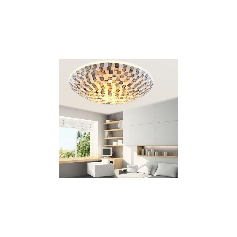 Shell Block Flush Mount Ceiling Light Lamps Living Room Flush Mount Ceiling Lights Ceiling Lights