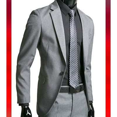 Bros Mens Suits Uk Wedding Suits Prom Suits Semi Formal Wear For Men 1 Gray 36r Ebay Designer Suits For Men Mens Suits Uk Grey Suit Combinations