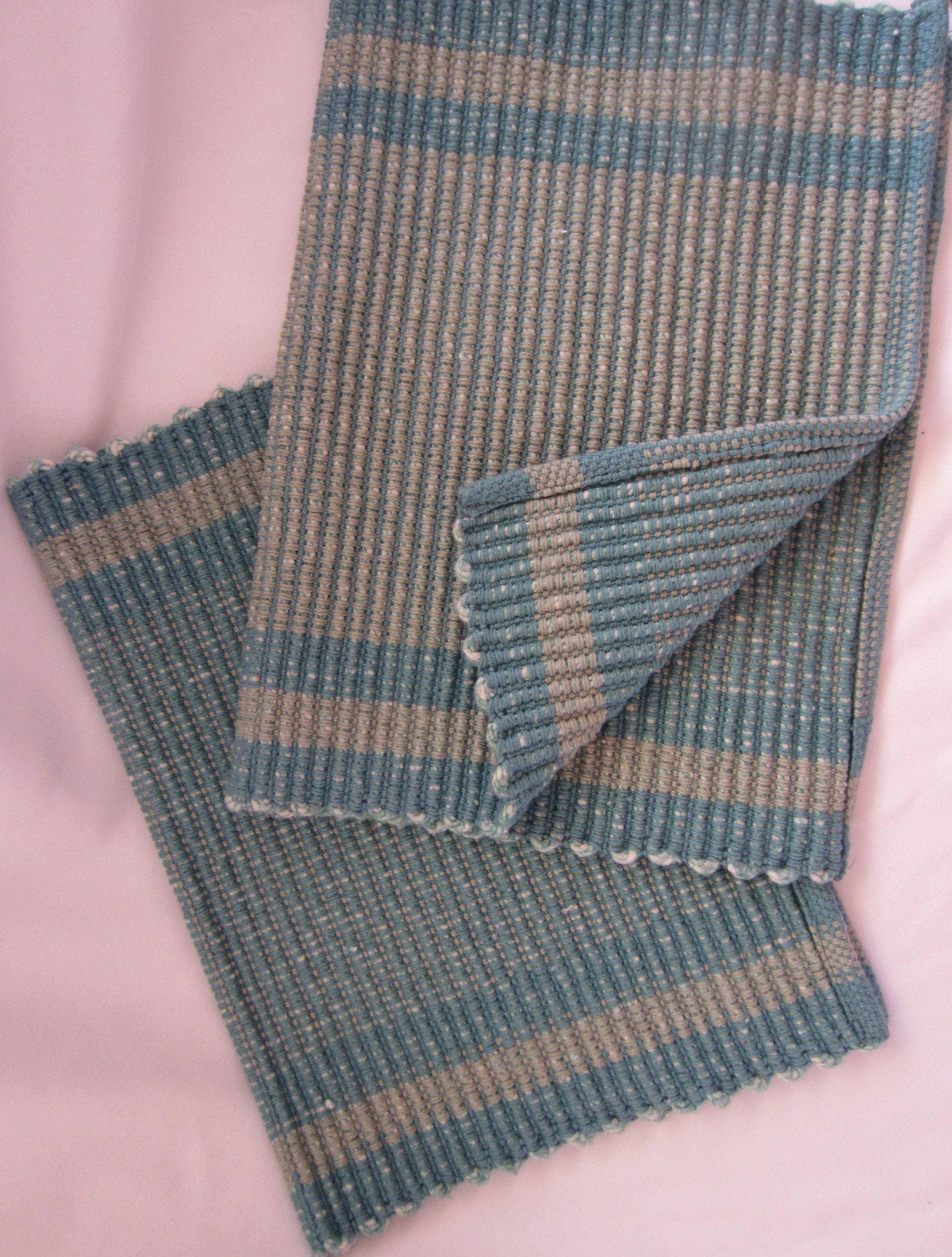 Weaving Placemats On My Rigid Heddle Loom Rigid Heddle Weaving Patterns Weaving Loom Projects Rigid Heddle Weaving