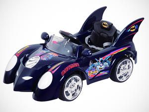 The Batmobile!!  I so want this...uh...in my size of course! Ride On Cars For Cool Kids -- LivingSocial Shop