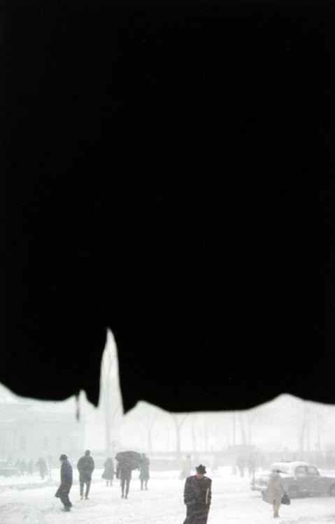 Saul Leiter - Canopy, 1958. S)