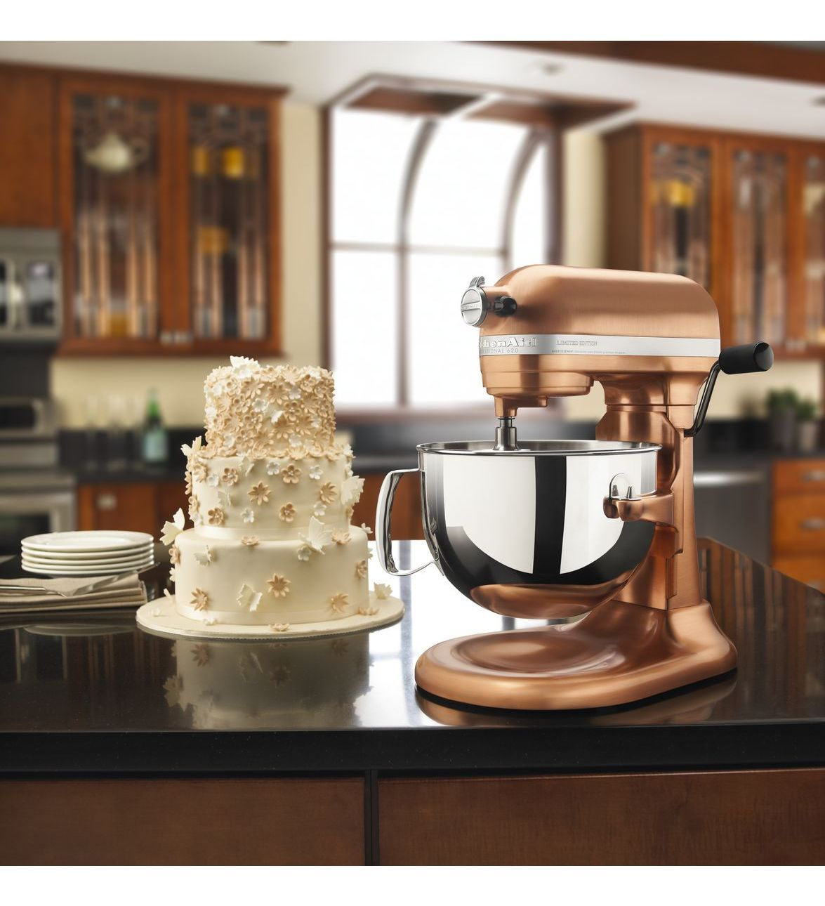 KitchenAid Professional 620 6 Quart Bowl Lift Stand Mixer, In Satin Copper!