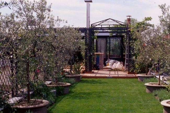 progetti terrazzi pensili - Cerca con Google | terrazze | Pinterest ...