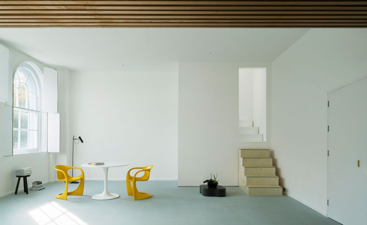 West . Extension and refurbishment of a living space in Islington . London (11)