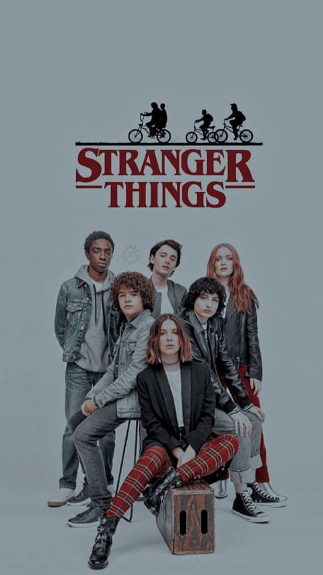 Stranger Things Cast Posteres De Filmes Stranger Things Tumblr Wallpapers De Filmes