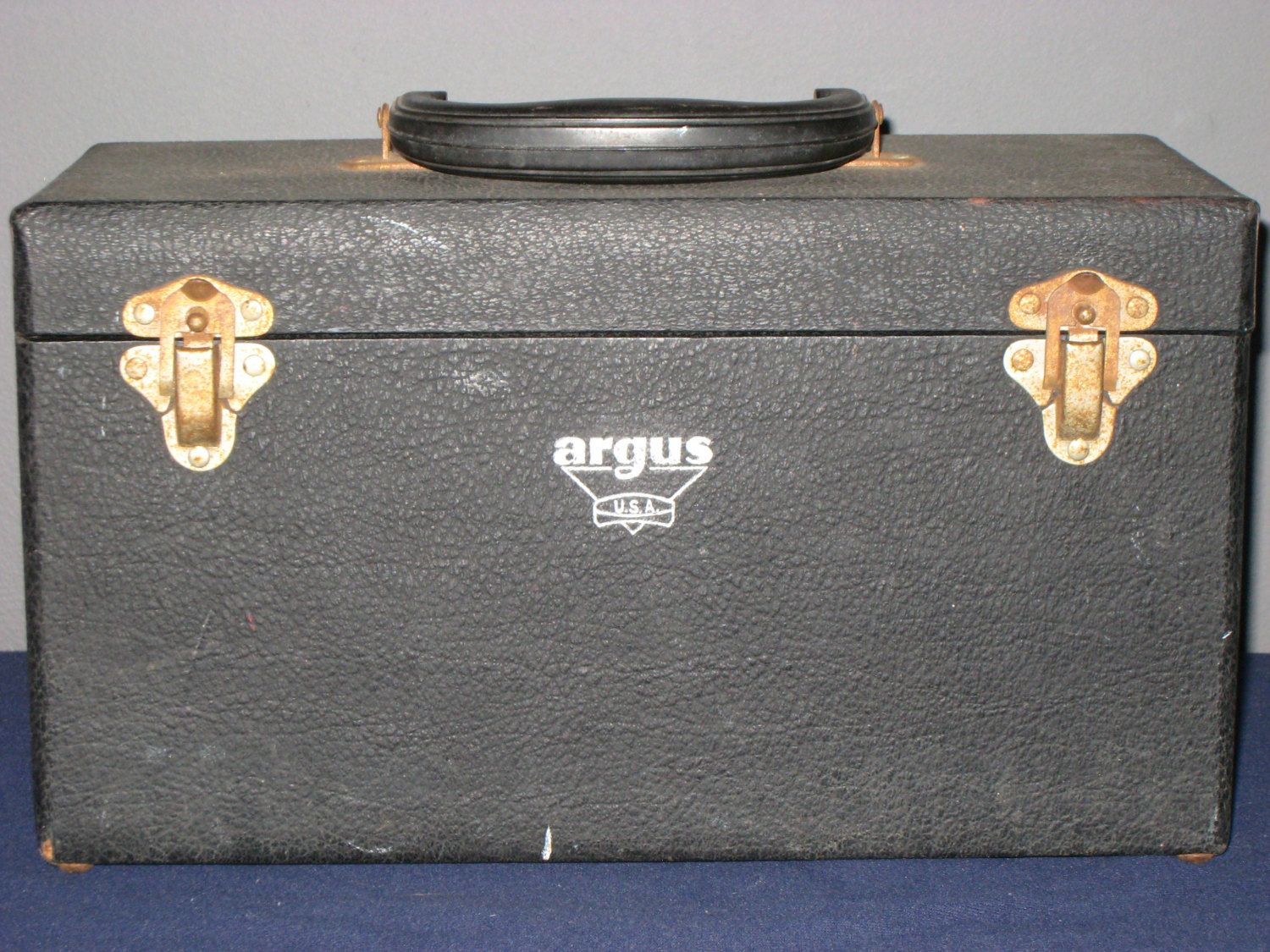 Vintage Argus USA Camera Case/Retro Camera Case/PA-100 35mm Slide Film Strip Projector CASE/Vintage Argus by iLikeEclectic on Etsy