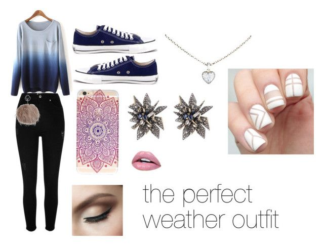 """the perfect weather outfit"" by roseat98 on Polyvore featuring River Island, Ethletic, Alexis Bittar and Cartier"