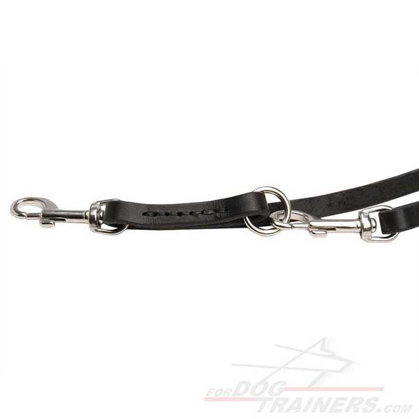 Best #leather #dog #leash multifunctional with STAINLESS STEEL snap hooks -  $39.90 |