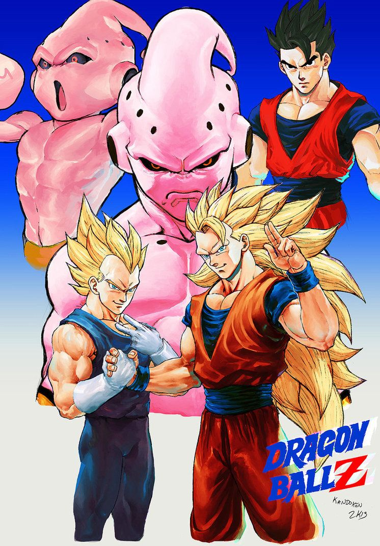 Dragon Ball Z Kid Buu Saga Anime Dragon Ball Dragon Ball Anime