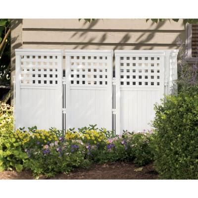 Suncast Classic 44 In Resin Screen Enclosure Fs4423d The Home Depot Outdoor Screens Screen Enclosures Outdoor Privacy