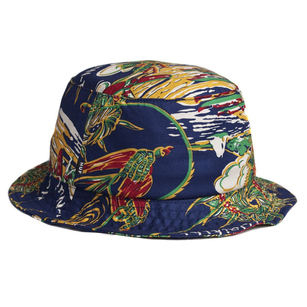 The Giant Peach - HUF - Souvenir Bucket Hat, Blue, $40.00 (http://www.thegiantpeach.com/huf-souvenir-bucket-hat-blue/)