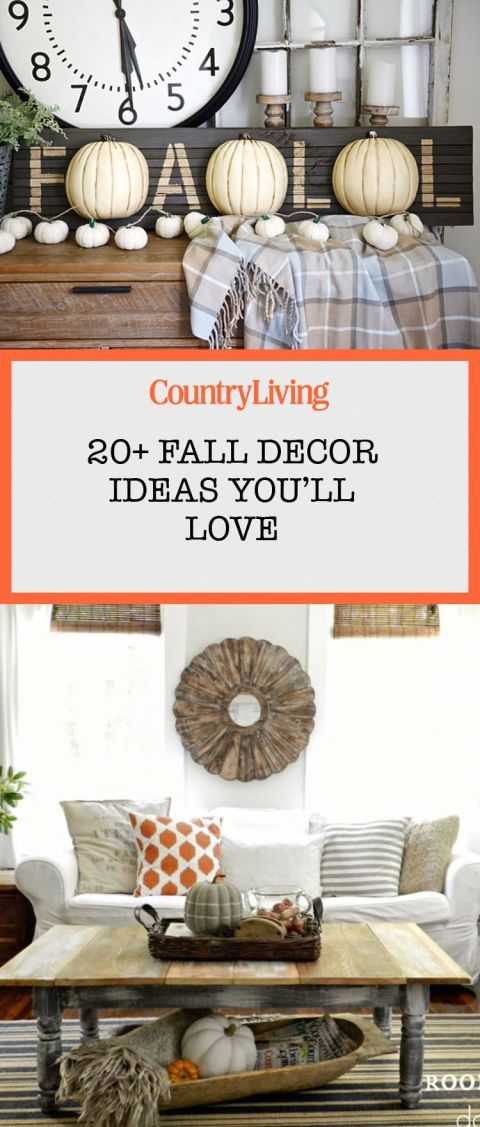 Merveilleux 21 Ways To Add Farmhouse Style To Your Home This Fall. Fall DecorationsSeasonal  DecorAutumn IdeasHoliday ...