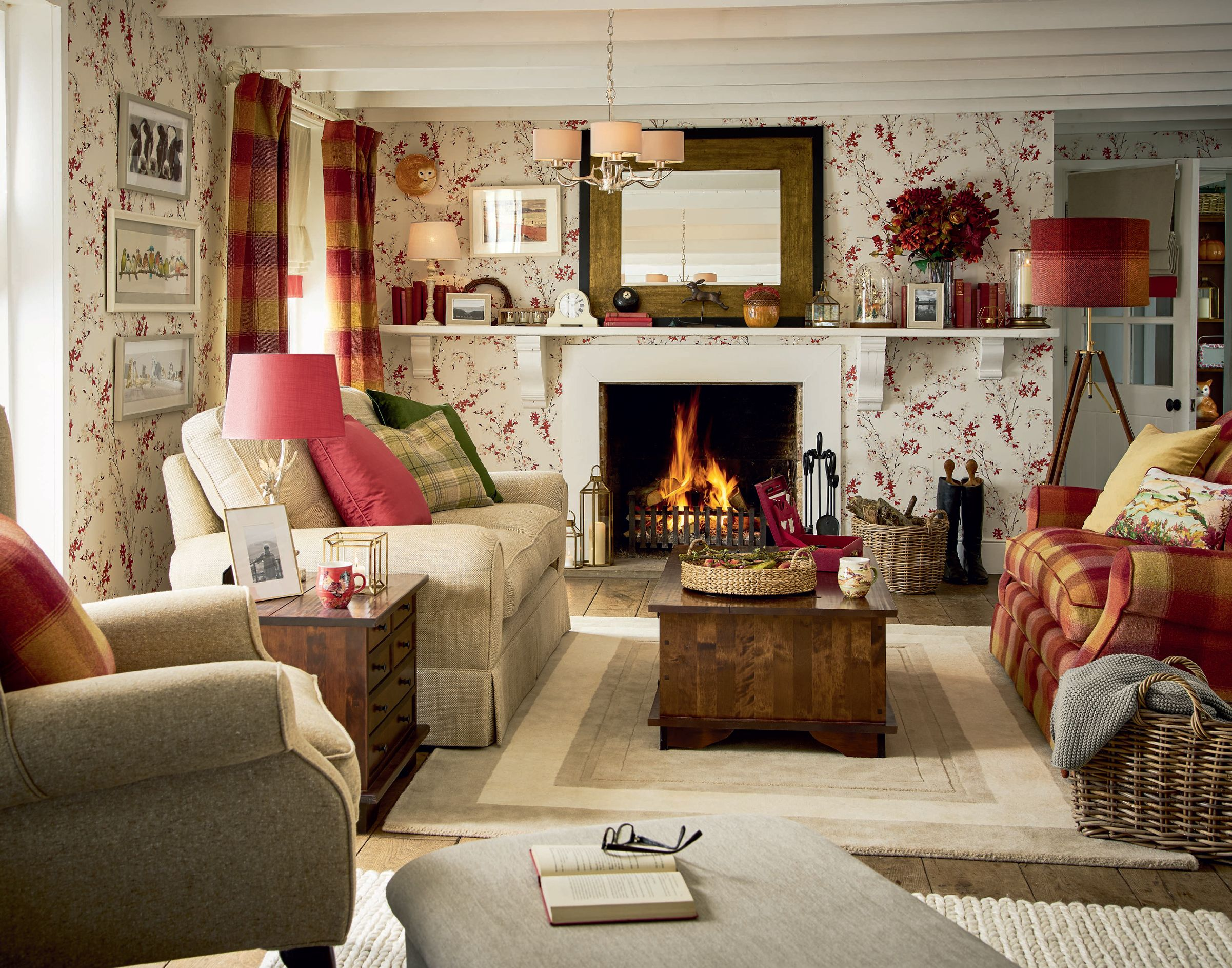 country cottage living rooms ideas | cottage living rooms