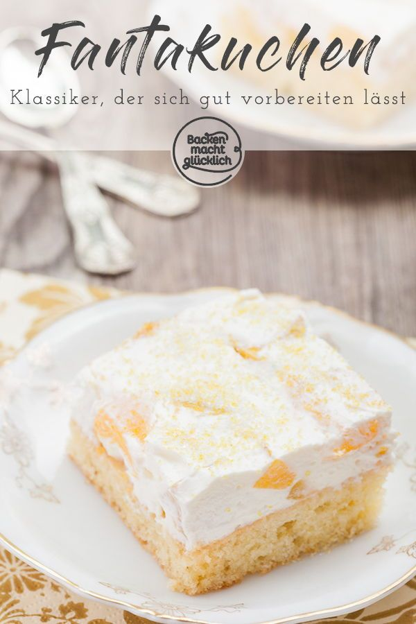 Photo of Fanta cake with sour cream Baking makes you happy