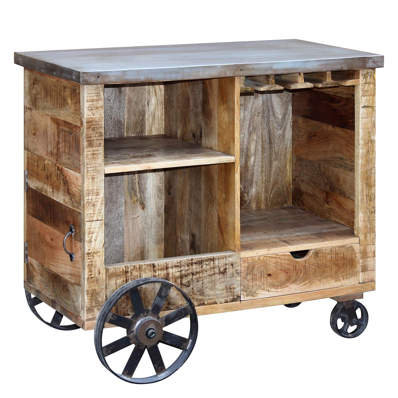 bar kandar mango massiv metall mango silber ars. Black Bedroom Furniture Sets. Home Design Ideas