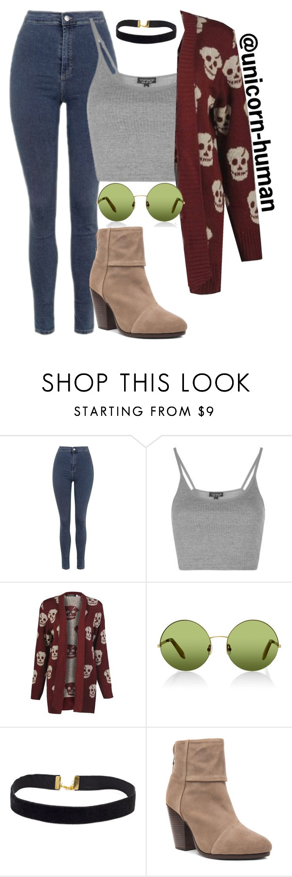 """""""Untitled #1611"""" by unicorn-human on Polyvore featuring Topshop, Victoria, Victoria Beckham and rag & bone"""
