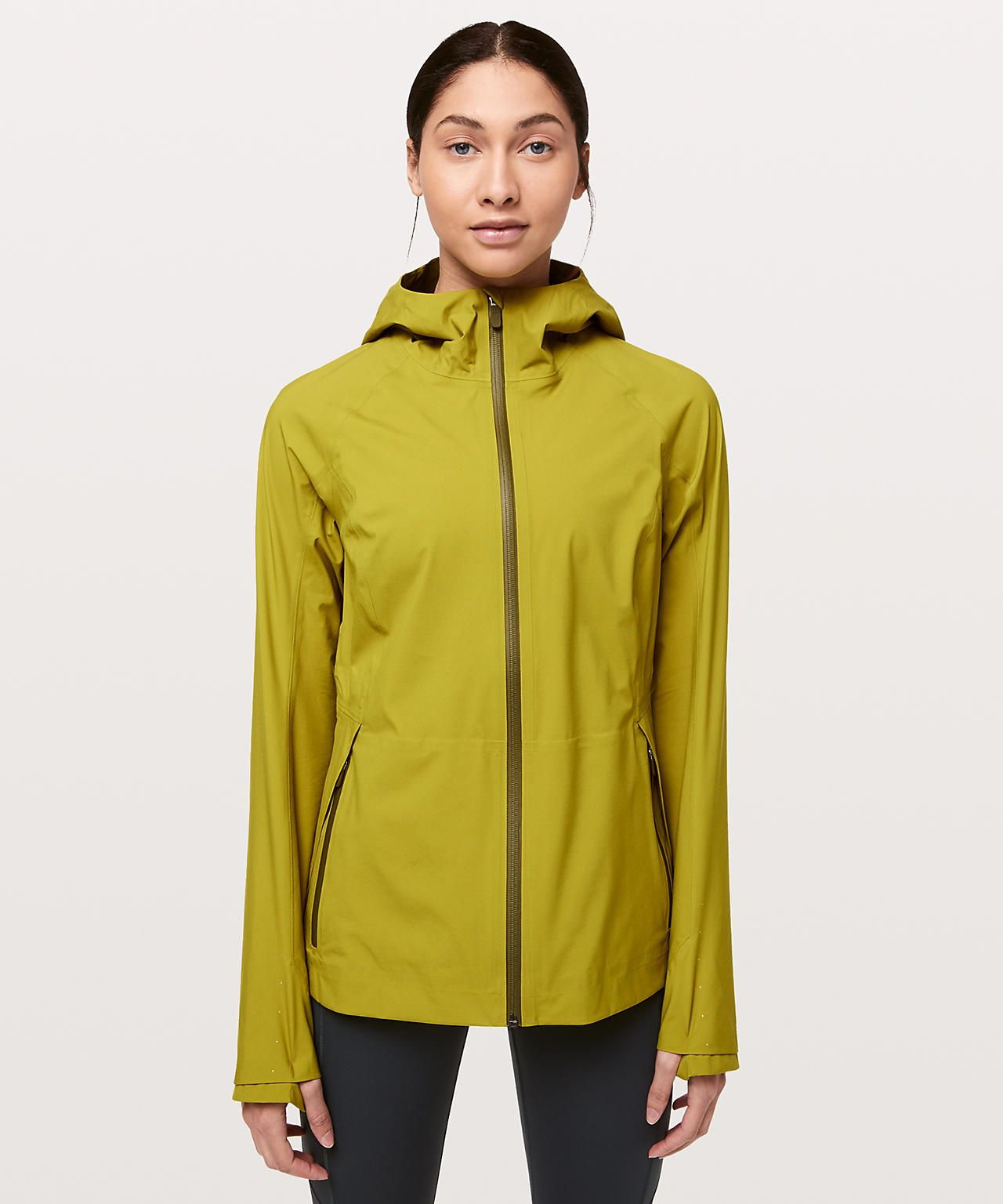 Golden Lime The Rain Is Calling Jacket Ii Online Only Technical Clothing Jackets For Women Outerwear Jackets [ 1536 x 1280 Pixel ]