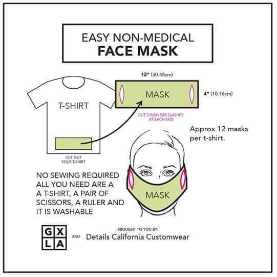 Photo of #DIY: How to Turn a Paper Towel, T-Shirt, Bra or Even a Jock Strap Into a Face Mask. Watch
