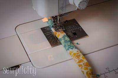 TUTORIAL:  Corded Fabric Handles
