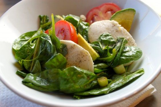 Avocado + Mozzarella Salad | The Defined Dish