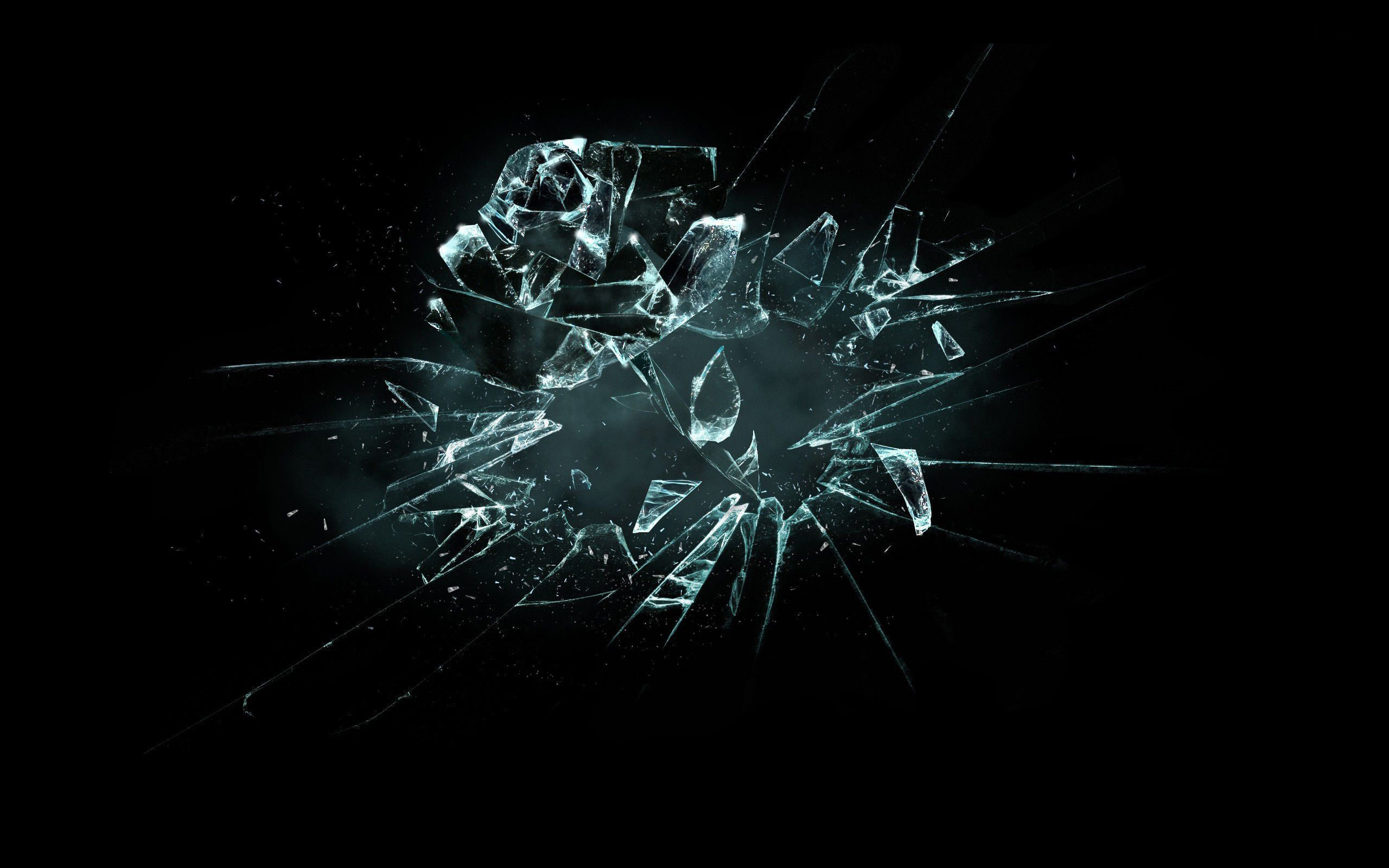 Broken Glass Wallpapers Abstract Wallpapers