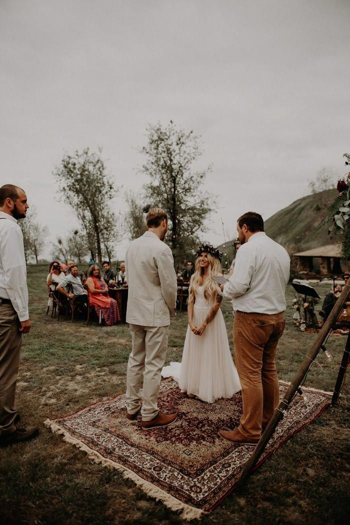 Wildly Romantic Wedding at Wind Wolves Preserve -   15 wedding Boho hippie ideas