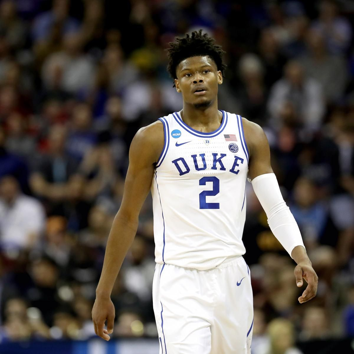 Duke's Cam Reddish a GameTime Decision vs. Michigan State