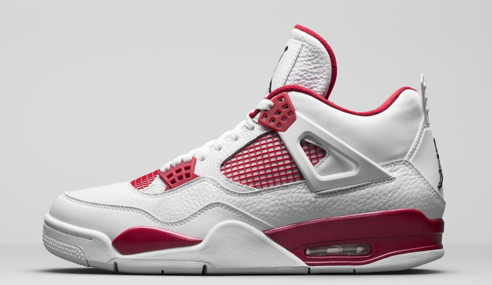 Air Jordan 4 Alternate 89 is part of the Air Jordan Retro Alternate  Collection. This Air Jordan 4 Alternate 89 in White/Red release date later  Spring 2016